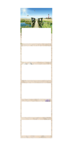 Calendario Semestral super 2 magnum Ejemplo