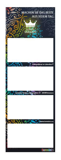Calendario Cuatrimestral super 2 Quadro